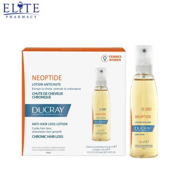 بخاخ دوكري نيوبتيد للشعر للنساء ducray neoptide 3x30 ml (1)