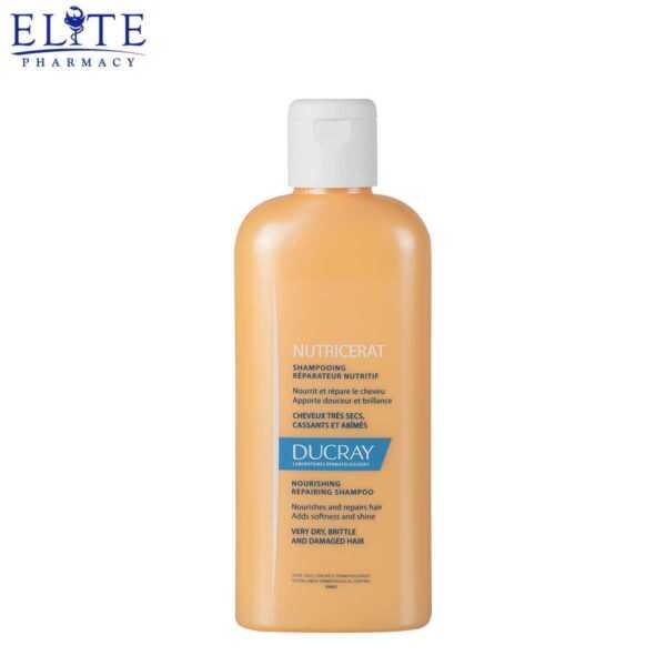 شامبو دوكري للشعر الجاف Ducray Nutricerat Shampoo 200ml