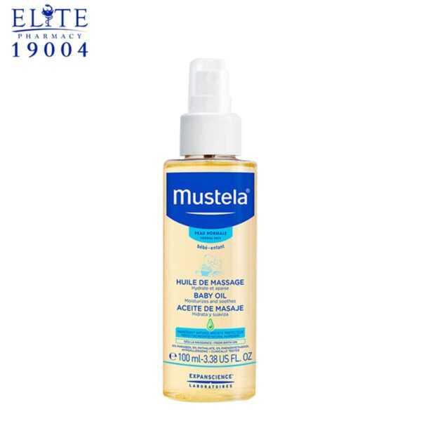 زيت موستيلا لتدليك الاطفال MUSTELA BABY MASSAGE OIL 100 ML