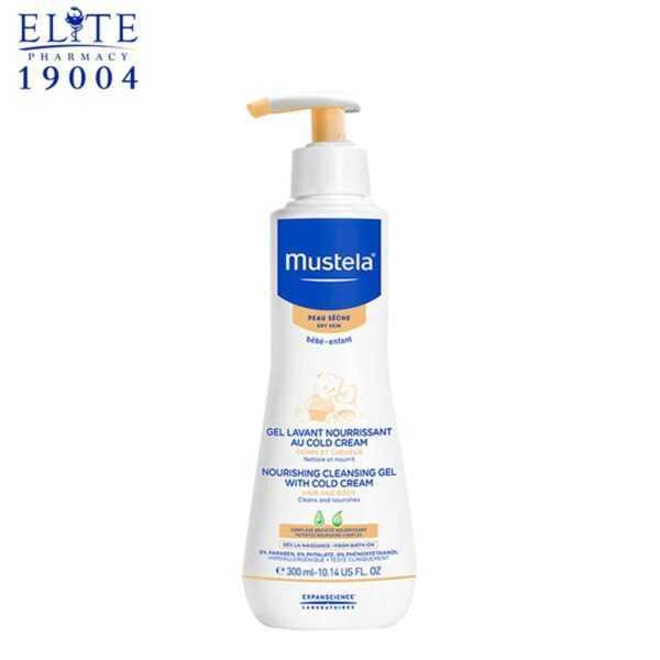 جل موستيلا المغذي المنظف للاطفال MUSTELA NOURISHING CLEANSING GEL 300 ML