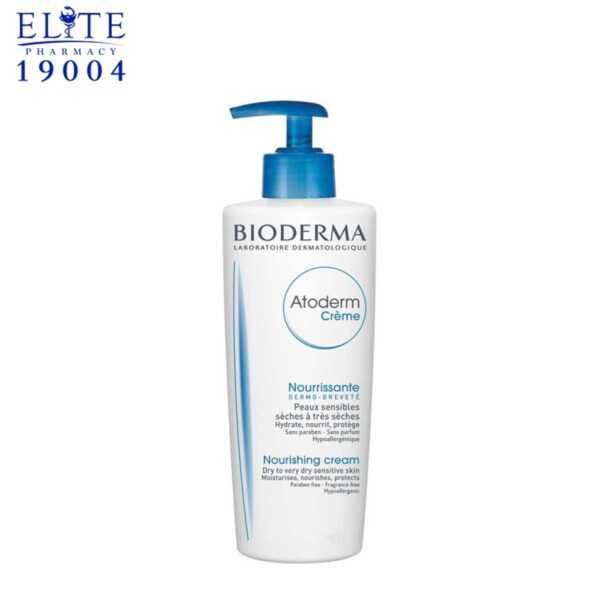 كريم بيوديرما اتوديرم للبشرة الحساسة | bioderma atoderm nourishing cream 200ml