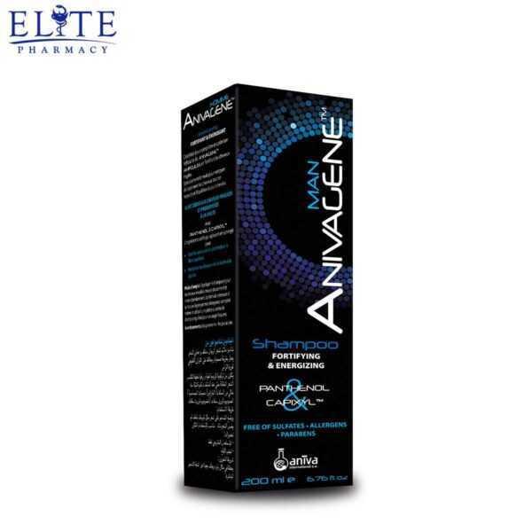 شامبو انيفاجين للرجال Anivagene Shampoo Fortifying And Energizing Man 200 Ml