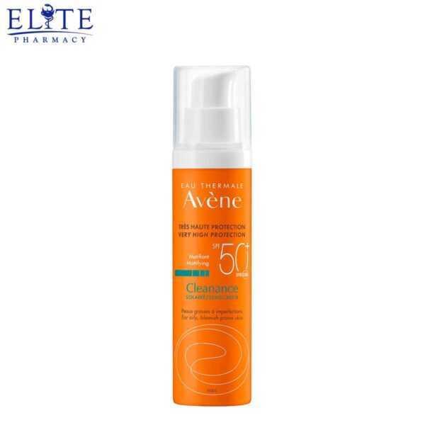 كريم افين واقي شمس 50+ Avène Cleanance Sun Care SPF 50+ 50ml
