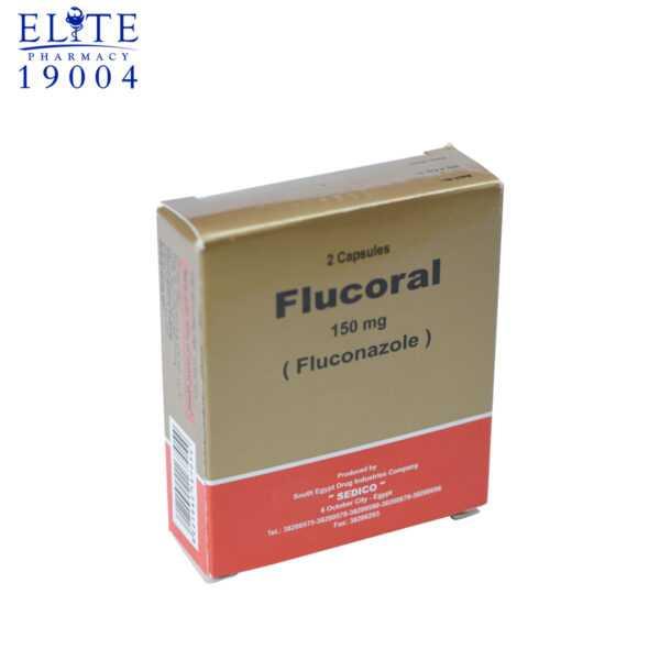 فلوكورال كبسول 150 مجم لعلاج عدوى الفطريات