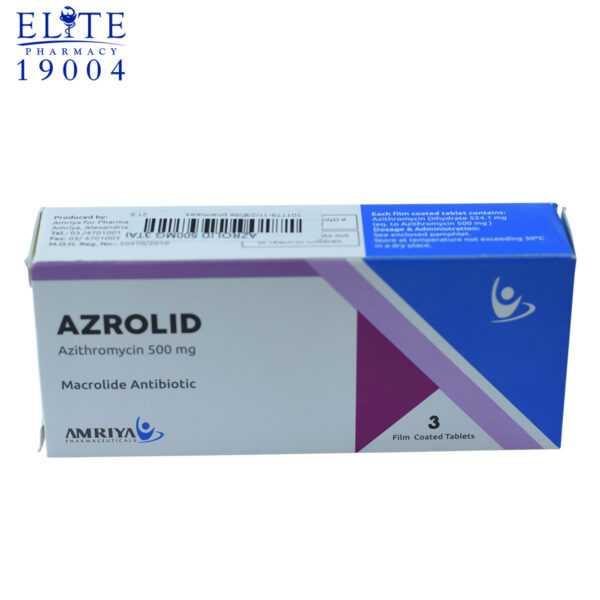 أزروليد أريثرومايسين 500 مجم