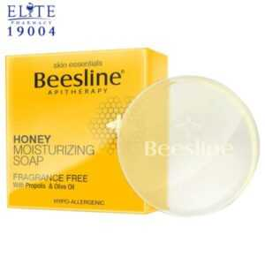 صابون بيزلين بالعسل beesline honey moisturizing soap 60GM